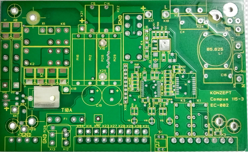 4-layer PCB with Heavy Copper