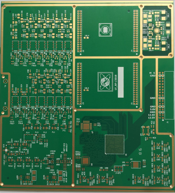 12-layer PCB with buried/blind board hole